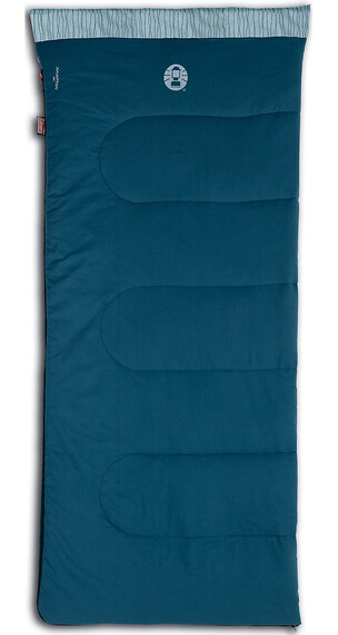 Coleman Hampton 220 Sleeping Bag blau
